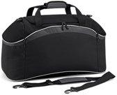 Bagbase Teamwear sporttas, Kleur Black/ Graphite Grey/ White