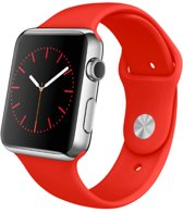 watchbands-shop.nl bandje - Apple Watch Series 1/2/3/4 (42&44mm) - Rood