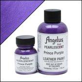 Angelus leerverf - Parelmoer effect : Prince Paars 118ml / 4oz