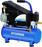 Hyundai compressor 6L 8 bar / lucht compressor / bandenpomp / banden pomp / oppompen / pneunmatisch aandrijven / schoonblazen