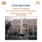 Tchaikovsky: Suites for Orchestra nos 3 & 4 / Sanderling