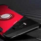 Let op type!! MOFI voor mysterieuze serie Huawei Mate 10 schokbestendige beschermende achtercover hoes met magnetische draaibare ringhouder (Rose goud)