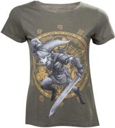 The Legend of Zelda - Link at the Gate of Time Women's T-Shirt - Maat XL