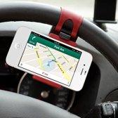 GadgetBay Stuurhouder telefoon auto universele houder voor iPhone GPS Smartphone