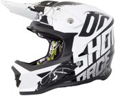 Shot Kinder Crosshelm Furious Venom Black/White-S
