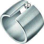 ESRG001424 Laurel Ring - Staal - Zilverkleurig