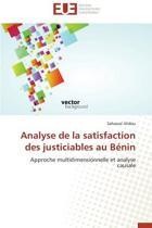 Analyse de la Satisfaction Des Justiciables Au B�nin