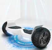 Nieuwst Starszoo 2019  Hoverboard Self Balancing Smart Hoverboard Balance Scooter / LED Verlichting /700W - Zwart