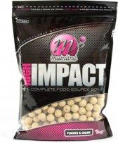 Mainline High Impact Boilie | Peaches & Cream | 20mm | 1kg