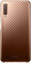 Samsung Gradation Cover - Samsung Galaxy A7 (2018) - Goud