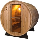 Barrel Sauna Rustic 6 ft. - Fonteyn