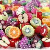 Kleikralen, d: 10 mm, fruit, 200 assorti