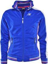 Rucanor - Trainingsjacket Dee JR 342 - Sportjas - Kinderen - Maat 164 - Blauw/ Combi