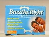 Breathe Right - Neusstrips medium/large10 stuks