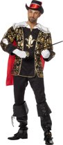 Gouden Musketier Kostuum Heren - 48