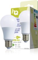 HQ E27 Dimbare LED Peerlamp 9,5W warm wit