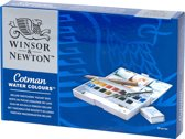 Winsor & Newton Cotman aquarelverf set pocketbox 16 napjes