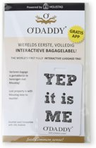 O'DADDY - Interactief bagage label - Yep its me