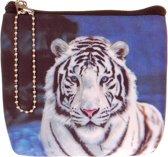 Kleine portemonnee tijger-