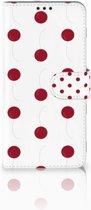 Huawei P Smart Plus Boekhoesje Design Cherries