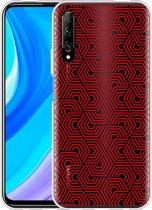 Huawei P Smart Pro Hoesje Geometric