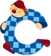 Janod Clown Letter - letter C
