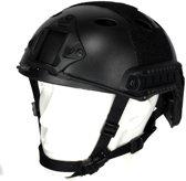 101inc Mich fast helm Airsoft zwart