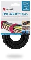 Velcro One-Wrap klittenband kabelbinders 330 x 12mm / zwart (25 stuks)