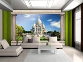 Fotobehang Frankrijk, Parijs   Blauw   104x70,5cm