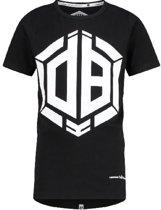 Vingino Daley Blind Jongens T-shirt - Deep Black - Maat 152