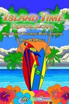 Island Time Mini Adult Coloring Book Journal