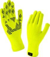 Sealskinz Ultra Grip-Hi Vis Fietshandschoenen - Maat M - Yellow/Black