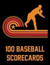 100 Baseball Scorecards