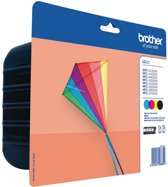 Brother LC-223 - Inktcartridge / Zwart / Geel / Magenta / Cyaan