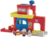Fisher-Price Little People Brandweerkazerne - Speelfigurenset