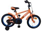 Amigo Sports - Kinderfiets - Jongens - Oranje - 14 Inch