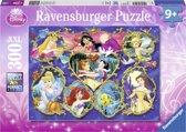 Ravensburger puzzel Disney Princess. Verzameling Disney prinsessen - Legpuzzel - 300 stukjes