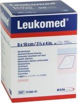Leukomed Wondpleister - Steriel - 8,0 x 10 cm - 50 Stuks
