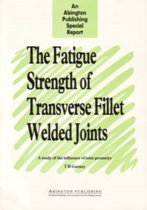 The Fatigue Strength of Transverse Fillet Welded Joints