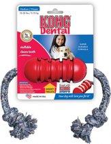 Kong Dental - Touw - 312 mm x 229 mm x 17 mm - Rood