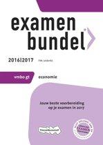 Omslag van 'Examenbundel vmbo-gt Economie 2016/2017'