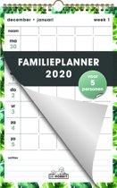 Hobbit familieplanner spiraal kalender D1 weekkalender 2020 voor maximaal 5 personen (formaat A4) staand
