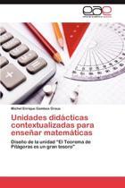 Unidades Didacticas Contextualizadas Para Ensenar Matematicas