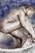 ''the Bath'' by Edgar Degas