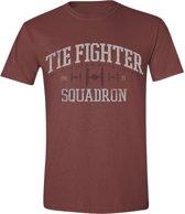 Star Wars - Tie Fighter Squadron Men T-Shirt - Red