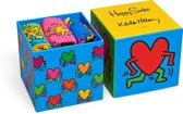 Happy Socks Keith Haring Giftbox Sokken - Multi - Maat 41-46