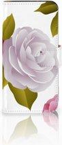 HTC One Mini 2 Uniek Boekhoesje Roses