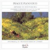 Schonberg: Chamber Symphonies 1 & 2 etc / Prague Piano Duo