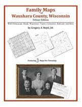 Family Maps of Waushara County, Wisconsin