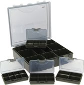 NGT Tacklebox System 4 + 1 - 27 x 18,5 x 6 cm - Groen